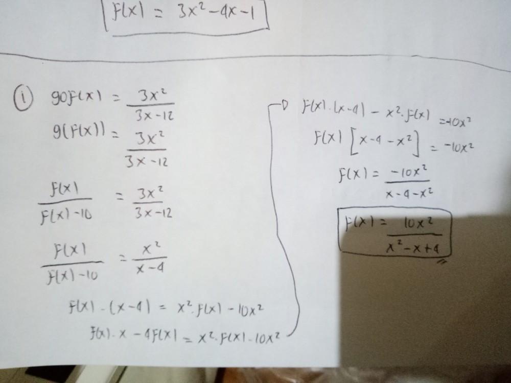 Materi : Fungsi Komposisi dan Fungsi Invers