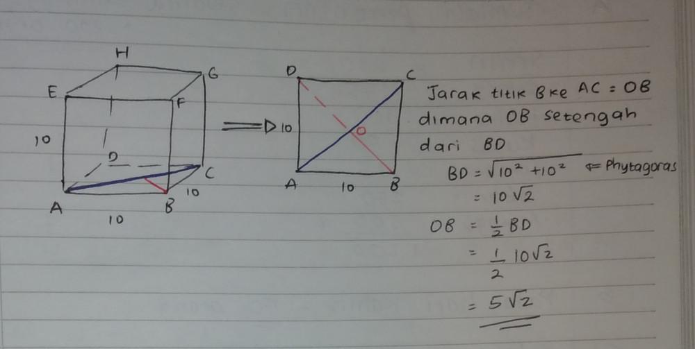 Perhatikan gambar di bawah ini untuk menjawab soal nomor 1 ...